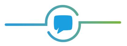 Icoon gesprek